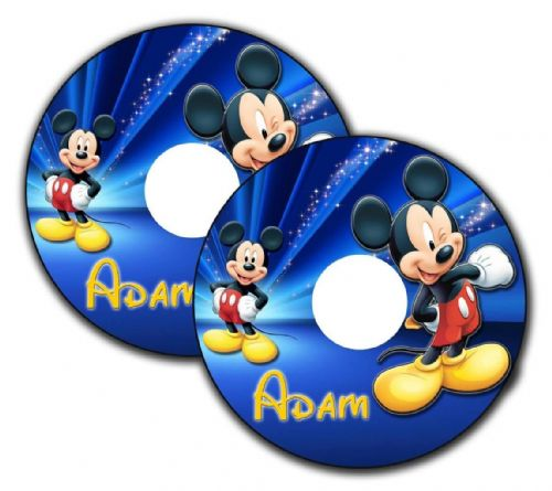 MICKY MOUSE Wheelchair Spoke Guard Sticker Skins